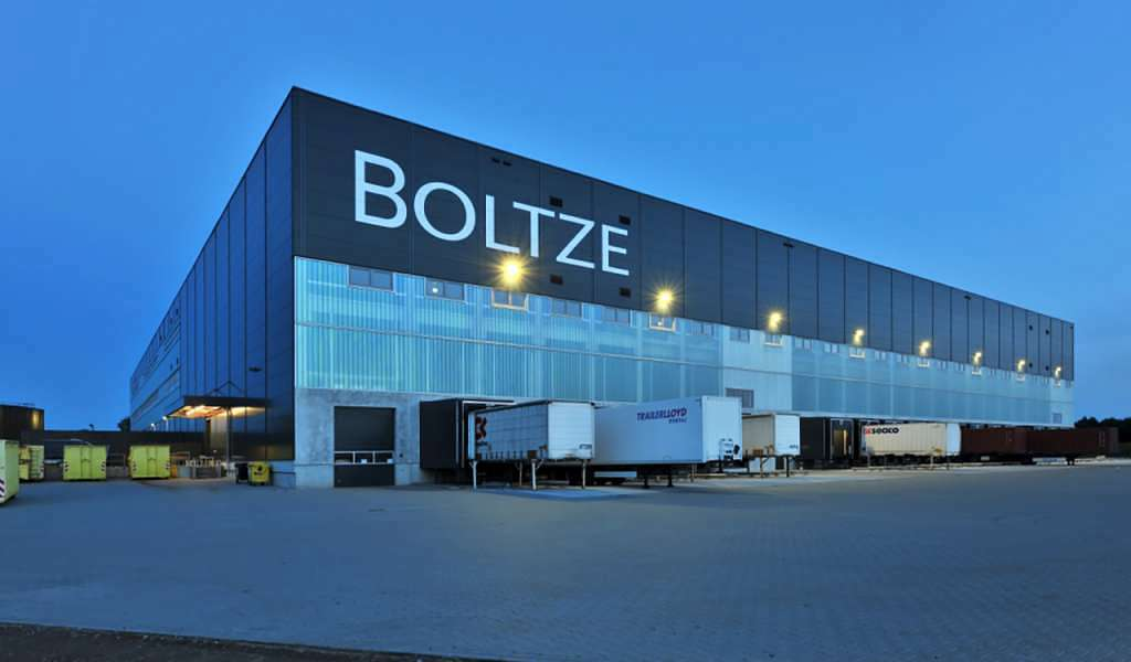 Lager- und Logistikzentrum für Firma Boltze in Braak
